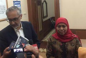 Temui Khofifah, Dubes Inggris Siap Bantu Wujudkan MRT