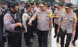 Amankan Grahadi, Siagakan 2.806 Personel Bersenjata Peluru Hampa
