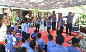 Cara Mahasiswa Peringati HAN, Tumbuhkan Semangat ABK dengan Berkarya