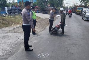 Hendak Menyeberang Jalan, Pejalan Kaki Tewas Ditabrak Motor