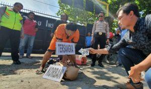 Peragakan 37 Adegan, Terungkap Pelaku Cemburu Korban Mau Dilamar Orang