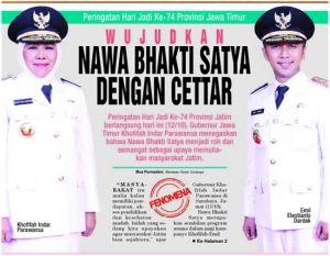 Bertekad Muliakan Warga Jawa Timur dengan CETTAR