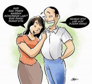 Istri Tak Mau Dipoligami, Terpaksa DIcerai