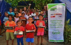 Kolaborasi Grab Indonesia - ACT Bantu Ribuan Penyintas Gempa Maluku