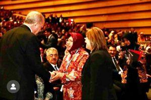 Erdogan: Risma Inspirasi Kemajuan bagi Perempuan Turki