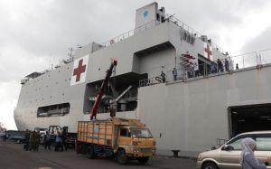 KRI dr Soeharso Siap Jemput WNI di Jepang
