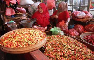 Pasokan Tak Stabil, Harga Cabai di Pasar Tradisional Fluktuatif