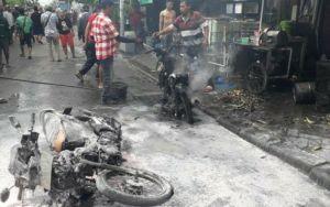 Kios Bensin di Lebak Jaya Terbakar, Ayah dan Putrinya Terluka