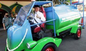 Dispendik Jatim Ciptakan Mobil Disinfektan untuk Jangkau Sekolah