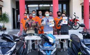 Lima Alap-Alap Jambret Jalan Kembang Jepun dan Arjuna Diringkus Polisi