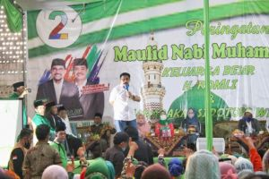 Menggelegar, Dukungan ke Machfud Arifin Menggema di Sidotopo Wetan