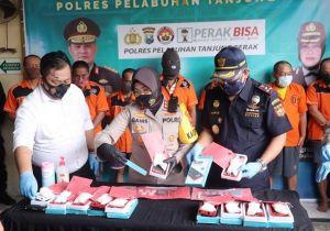 Polisi Gagalkan Penyelundupan 1,2 Kg Sabu di Power Bank