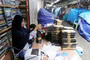 Dampak Pandemi, Pedagang Buku di Kampung Ilmu Beralih ke Jualan Online