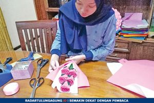 Bisnis Buket Bunga dari Flanel Modal Minim, Untung Menjanjikan