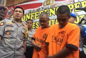 Bekuk Dua Pengedar Sabu, Joko Dan Ibrahim Lebaran di Tahanan