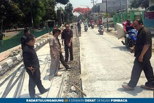 Komisi III DPRD Kota Blitar Terus Awasi Proyek Infrastruktur