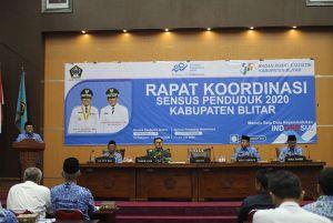 Bupati Rijanto Ikuti Pengisian Sensus Penduduk Online 2020