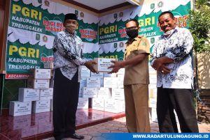 Upaya PGRI Kabupaten Trenggalek Ikut Menghambat  Penularan Covid-19