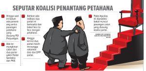 PKB dan Gerindra Jemput Rekom DPP