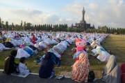 5.000 Jamaah Salat Id di Lapangan Renon