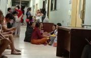 Pengunjung Ruang MS RSUP Sanglah Semrawut, Pasien Terganggu