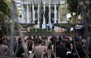 Tak Kenal Lelah, TNI/Polri Solid Jaga Sidang Putusan MK