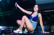 Female DJ Arra Tesla Happy Party Bareng Crowd Bali