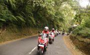 Bali Exploride Honda ADV 150 Tempuh Jarak 200 Km