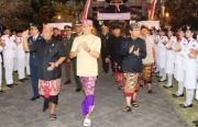 Penurunan Bendera di Badung, Dimeriahkan Ribuan Penari Pendet PAUD