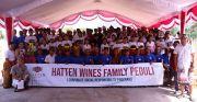 Rayakan HUT Ke-25, Hatten Wines Gelar Sejumlah Bakti Sosial