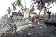 Abrasi Ancam Lahan Pura dan Pemukiman Warga di Karangasem