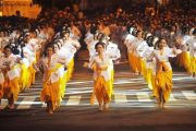 Dispar Pertimbangkan Pementasan Rejang Renteng di Festival Nusa Penida