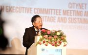 Rai Mantra Paparkan Konsep Tri Hita Karana di City Net Forum Nepal
