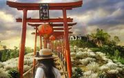 Taman Jinja Ajak Wisatawan Seakan Ada di Jepang