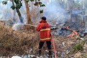 Penanganan Kabakaran Kerap Terlambat, Warga Kubu Minta Pos Damkar