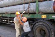 Naikkan 10 Batang Tiang Pancang Tol Bali Mandara, Butuh Waktu 2 Jam