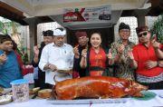 Bupati Tabanan Gelar Mepatung Massal, Borong 517 Ekor Babi