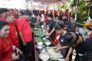 Bupati Mahayastra Buka Festival Kuliner Bali