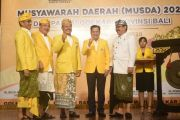 Demer Mundur, Sugawa Korry Secara Aklamasi Pimpin Golkar Bali