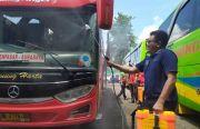 Efek Virus Corona, Bisnis Tranportasi Bus Lesu