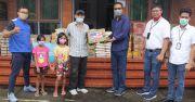 BRI Kanwil Denpasar Sebar Sembako di 13 Panti Asuhan
