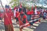 PDIP Karangasem Datangi Polres, Laporkan Pembakaran Bendera