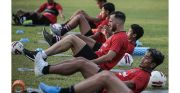 Bali United Latihan Perdana, Gavin Puji Protokol Kesehatan