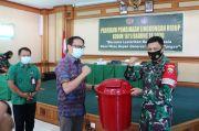 Kodim Badung Bina Lingkungan Hidup, Pemkab Bantu Tong Sampah