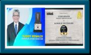Dirut bank bjb Yuddy Renaldi Dianugerahi Bankers of The Year