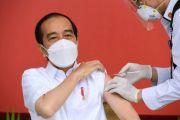 Presiden Jokowi Menerima Vaksin Covid-19 Perdana