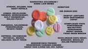 Sales Narkotika Asal Surabaya Dihukum 12 Tahun Penjara