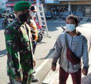 Salah Pakai Masker, Tiga Orang Disanksi Push-up