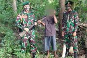 Warga Serahkan 10 Pucuk Senpi ke Satgas Pamtas RI-Timor Leste
