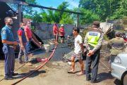Gara-Gara Kabel Digigit Tikus Korsleting, Mobil dan Motor Terbakar